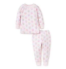 Kissy Kissy Kissy Kissy Owls Pajama Set - Girl