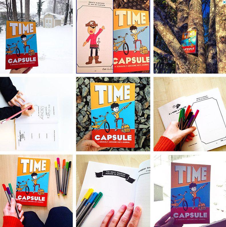 Katie Clemons Time Capsule Journal