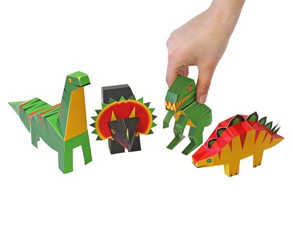 PUKACA Dinosaur Paper Toy