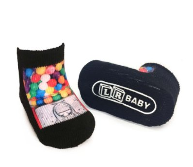 Living Royal Gumballs Baby Socks