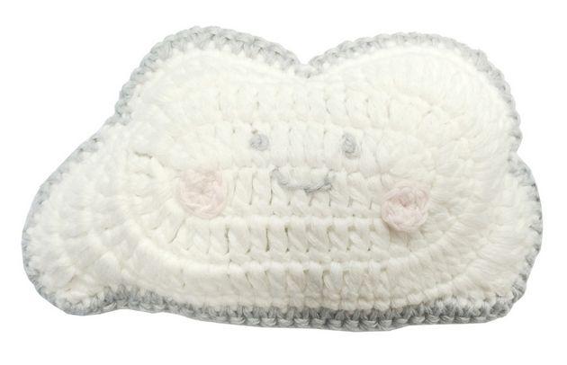 Albetta Cloud Crochet Rattle Doll