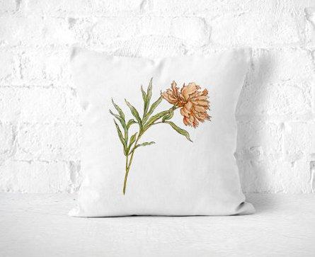 Frankie Print Co. Large Floral Pillow