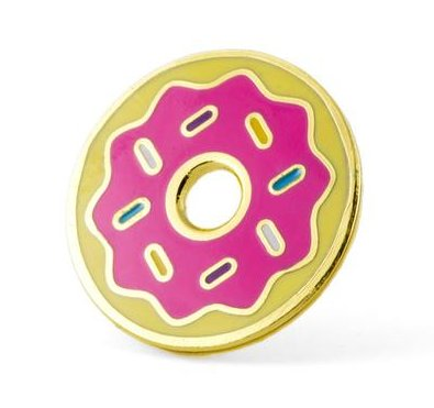 These are Things Donut Pin