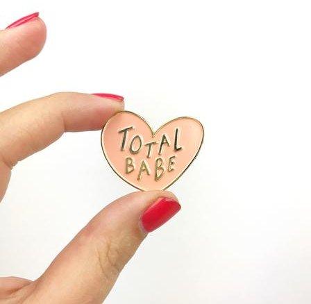 Craft Boner Total Babe pin
