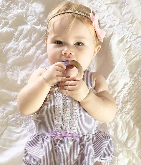 Fairy of Color Wooden Organic Teether