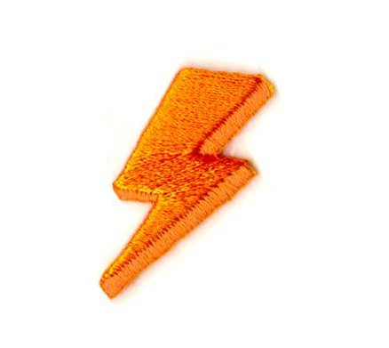 These are Things Lightning Sticker Patch