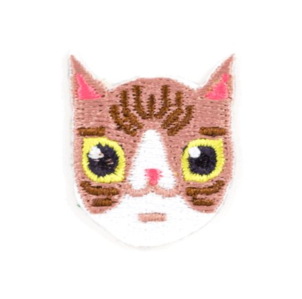 These are Things Cat Sticker Patch