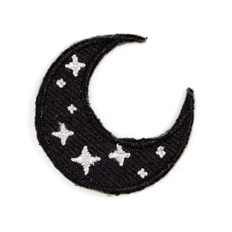 These are Things Crescent Moon Sticker Patch