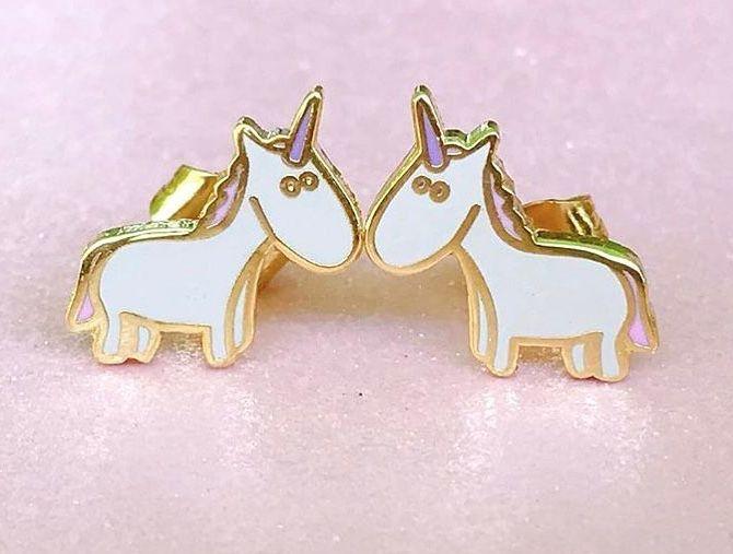Unicorn Crafts Unicorn Earrings