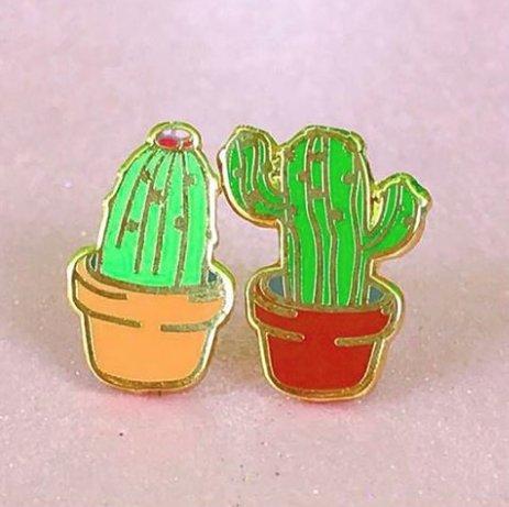 Unicorn Crafts Cactus Earrings