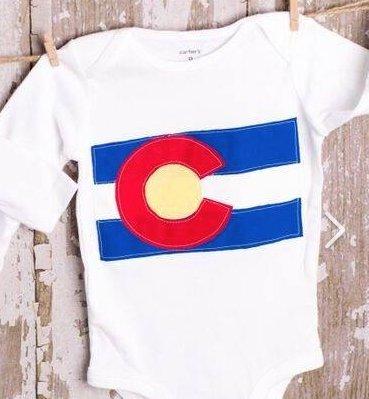 Sewn with Love Colorado Long Sleeve Tee