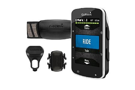 Garmin Garmin GPS Cycling Computer Edge 520 Bundle with Heart Rate and Cadence Monitor: Black