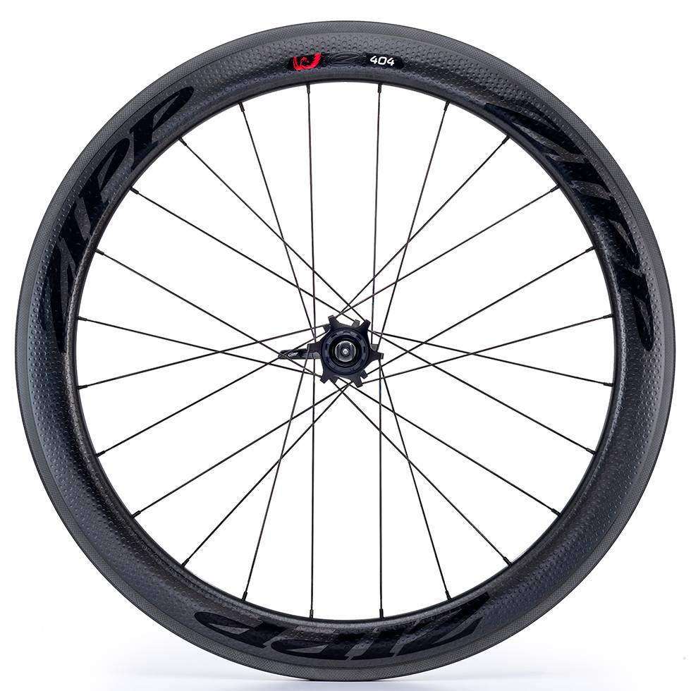 Zipp Speed Weaponry Zipp 404 Firecrest Carbon Clincher Rear Wheel, 700c, V3, 11-speed, SRAM / Shimano, Black Decal