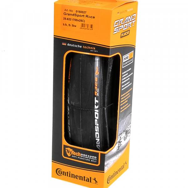 Continental Continental Grand Sport Race Black Folding Bead
