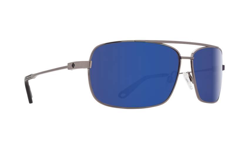 Spy SPY Leo Gunmetal - Happy Bronze w/Blue Spectra