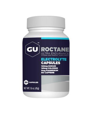 GU GU Roctane Electrolyte Capsules: Bottle of 125