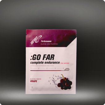 Infinit Infinit Nutrition Women's Go Far Energy Drink Mix: Grape 18 Serving Bag