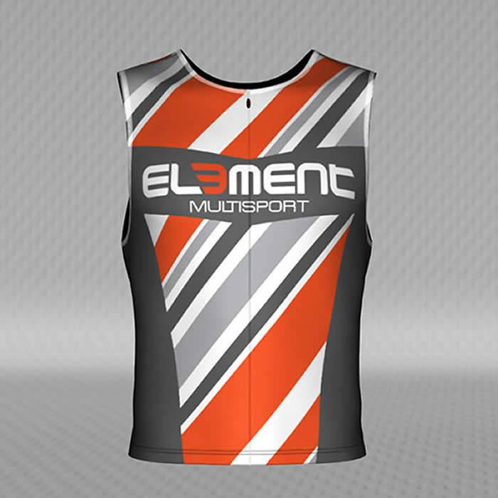 Jakroo Element Men's Elite Pro Tri Top