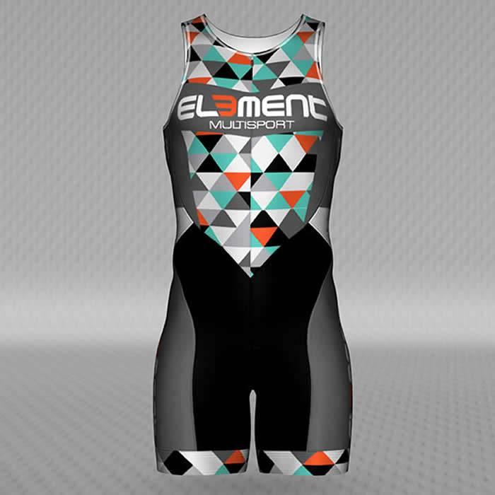 Jakroo Element Women's Fusion Pro Tri Suit