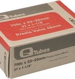 Q-Tubes Q-Tubes 700c x 23-25mm 48mm Presta Valve Tube 126g