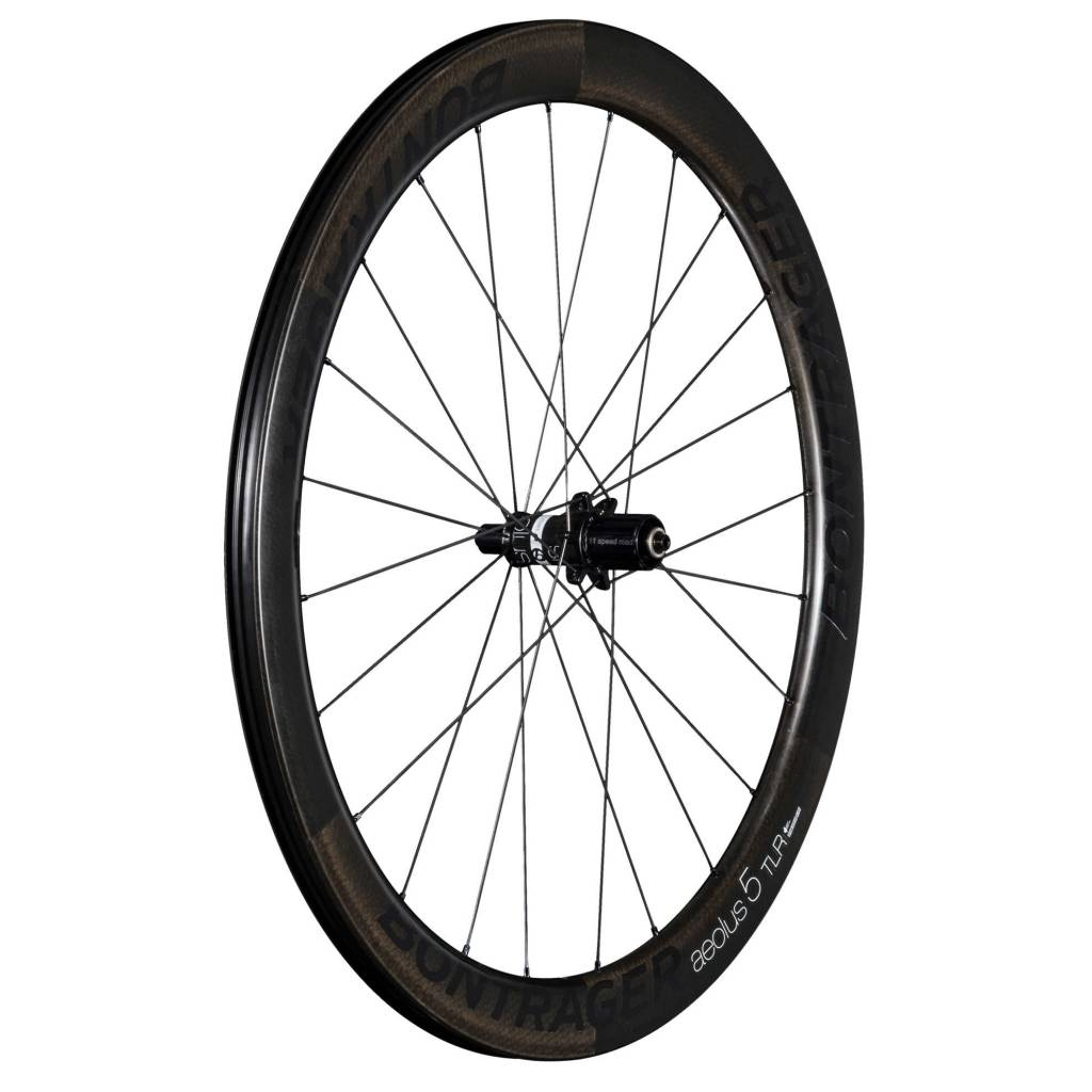 Bontrager Wheel Rear Bontrager Aeolus 5 TLR Clincher Shim 11 Black