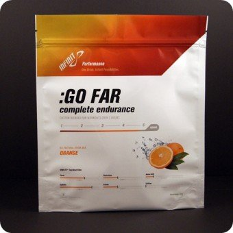 Infinit Infinit Nutrition Go Far Energy Drink Mix: Orange 18 Serving Bag