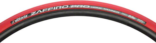 Vittoria Vittoria Zaffiro Pro Home Trainer Tire: Folding Clincher, 700x23, Red
