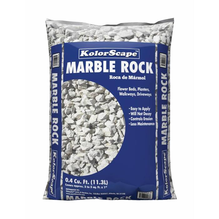Bagged Marble Rock .5 CF