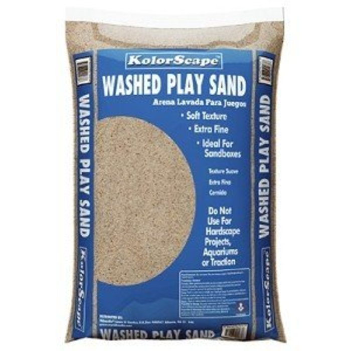 Bagged Play Sand .4 CF