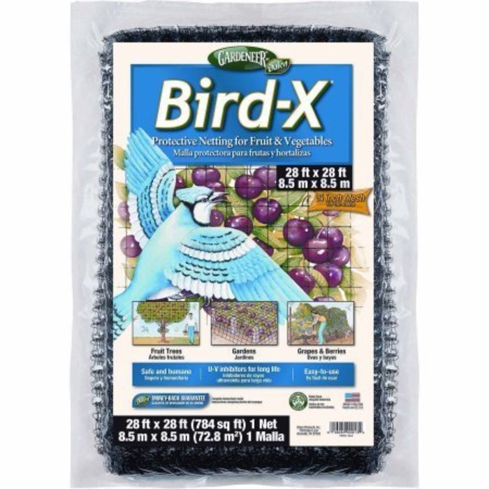 Gardeneer Bird-X Netting 28' x 28'