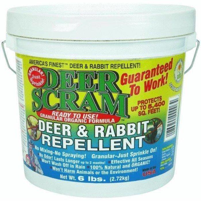 Deer Scram 6# Granules