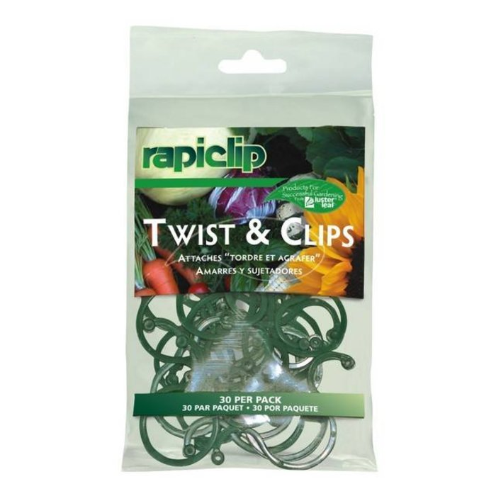 Luster Leaf Twist & Clip 30 Ct