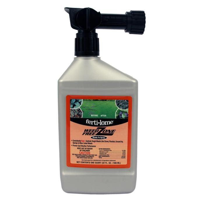 F-L Weed Free Zone 32 oz Hose-End