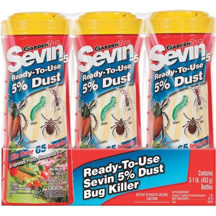 GT Sevin Dust 1# RTU 3 Pk