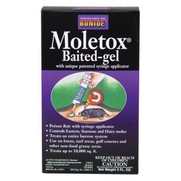 Bonide Moletox Baited Gel 3 oz