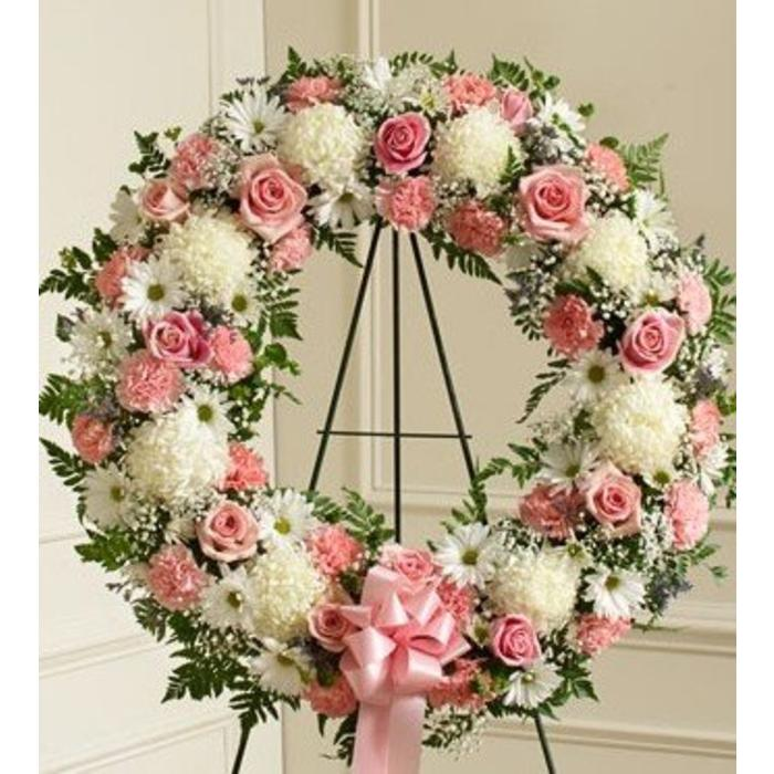 Delicate Memories Wreath Spray