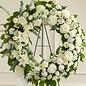 Graceful in White Wreath Spray