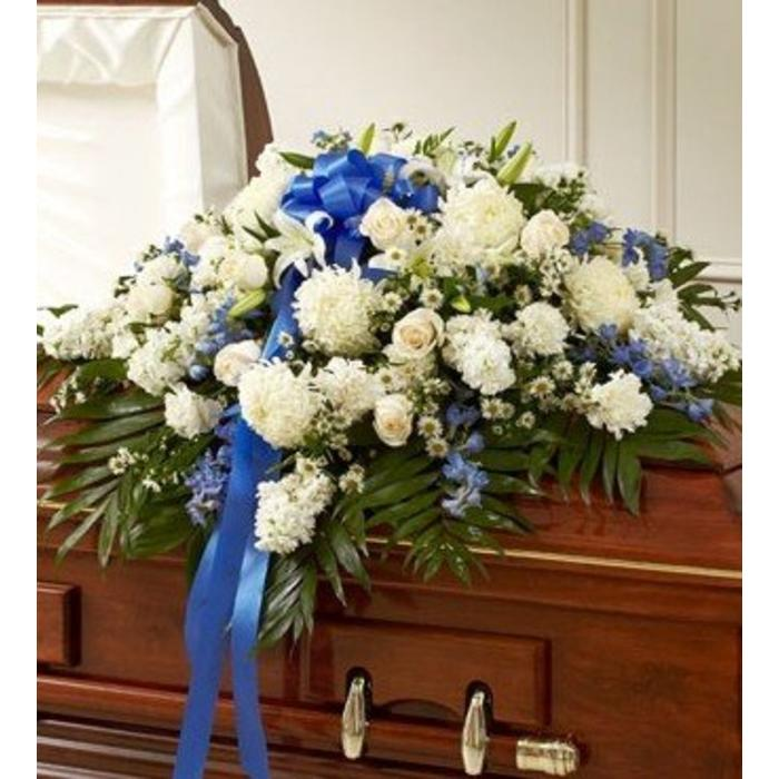 Heartfelt Memories Casket Spray