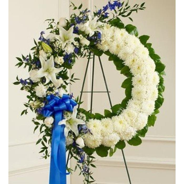 Heartfelt Memories Wreath Spray