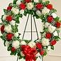 Heavenly Reception Wreath Spray