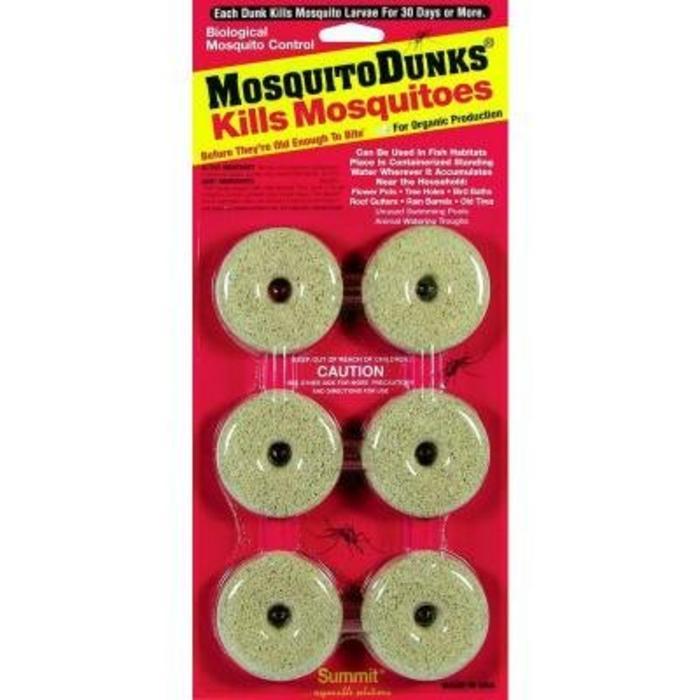 Mosquito Dunks 6 Pk
