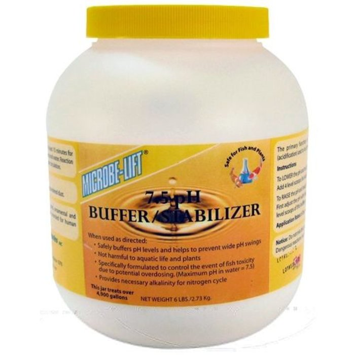 Microbe Lift 7.5pH Buffer/Stabilizer