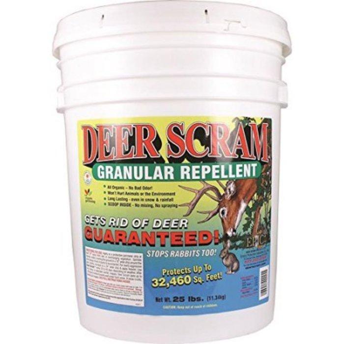 Deer Scram 25# Granules