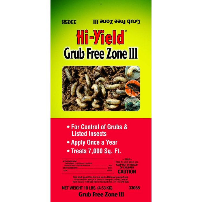 H-Y Grub Free Zone III 10#
