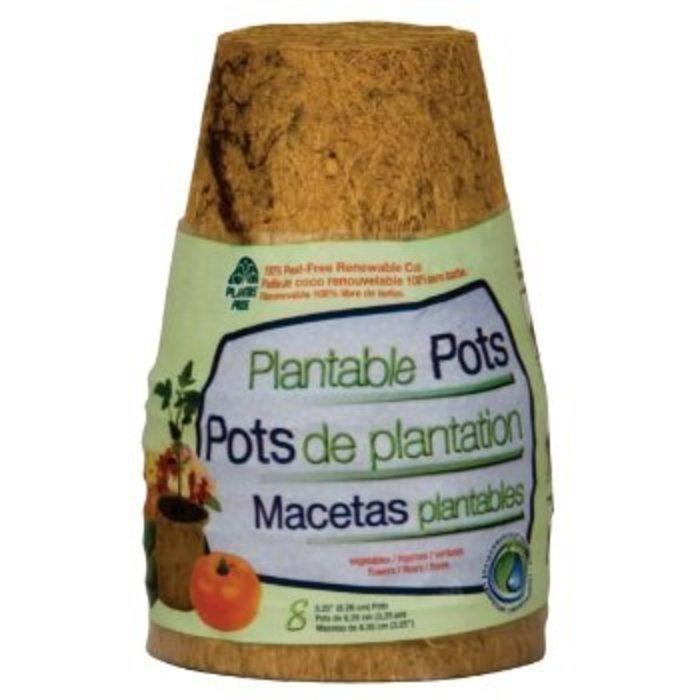 Coco Coir Pots 8 Pk