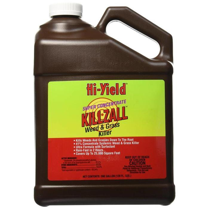 H-Y Killzall Weed & Grass Killer Gal