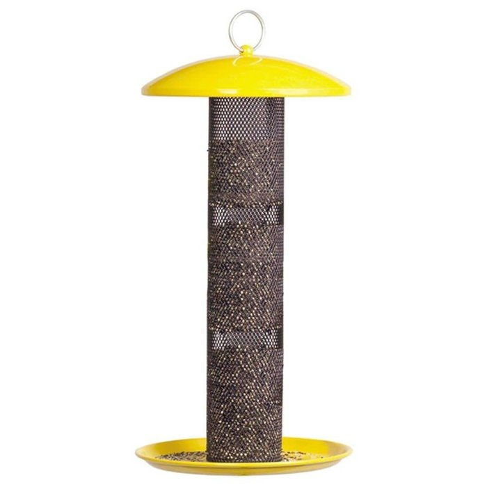 No No Yellow Straight Side Finch Feeder