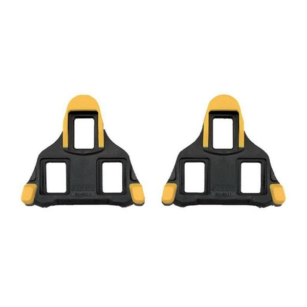Shimano SM-SH11 Spd-SL Cleat - 6 Degrees Float - Yellow