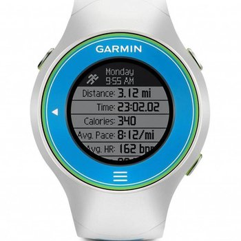 Garmin Forerunner 610 GPS Watch - White/Blue