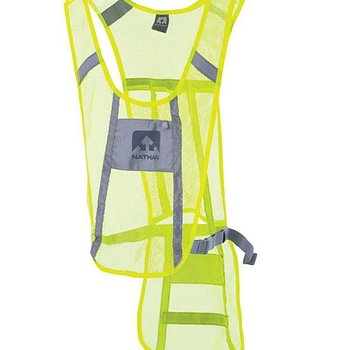 Nathan Cycling Vest - Hi Viz Yellow